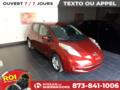 Nissan Leaf 2015 SV+GPS+CAMÉRA DE RECULE
