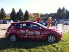 Depuis 8 ans MAZDA DE SHERBROOKE est fier partenaire Nez Rouge en fournissant la voiture officiel de la mascotte - 1