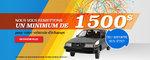 1500$ pour votre véhicule Mazda