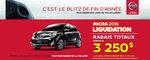 La Nissan Micra 2016 à petit prix