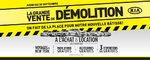 La grande vente de démolition chez Kia de Sherbrooke