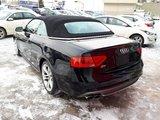 Audi S5 2013 CONVERTIBLE , QUATTRO, CUIR ROUGE