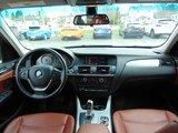 BMW X3 2011 35i  NAVIGATION CUIR ROUGE SIEGES CHAUFFANTS