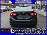 Chevrolet Cruze 2017 LT + TOIT OUVRANT + CAM DE RECUL + BLUETOOTH