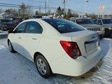 Chevrolet Sonic 2014 LT AUTOMATIQUE CLIMATISEUR