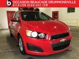Chevrolet Sonic 2015 LT- AUTOMATIQUE- CAMÉRA- JAMAIS ACCIDENTÉ!