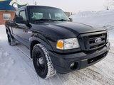 Ford Ranger 2010 SPORT- MANUELLE- 4X4-HITCH- COUVERTURE DE CAISSE!!