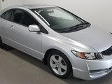 Honda Civic Cpe 2009 LX, toit ouvrant, faible kilométrage