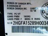 Honda Civic Sdn 2009 151000KM CLIMATISEUR GROUPE ÉLECTRIQUE