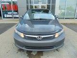Honda Civic Sdn 2012 LX CLIMATISEUR JANTES BLUETOOTH RÉGULATEUR DE VITE
