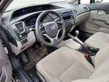 Honda Civic Sdn 2013 DX- MANUELLE 5 VITESSES- BAS MILLAGE!