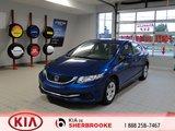 Honda Civic Sdn 2013 LX* CRUISE*A/C*BLUETOOTH*AUDIO AU VOLANT*
