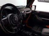 Jeep Wrangler Unlimited 2012 SPORT, toit souple, jamais accidenté