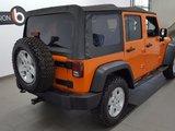 Jeep Wrangler Unlimited 2012 SPORT, toit souple