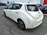 Nissan Leaf 2014 /SL/CUIR/100% ÉLECTRIQUECHARGEUR RAPIDE 240V