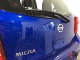 Nissan Micra 2017 SPÉCIAL DÉMO SV - MANUELLE - A/C + CRUISE!!