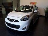 Nissan Micra 2017 SR, CAMÉRA DE RECULE, AIR CLIMATISÉ