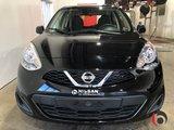 Nissan Micra 2017 SV- CERTIFIÉ- 1.6L-  AUTOMATIQUE- BAS MILLAGE!