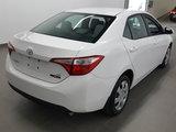 Toyota Corolla 2015 LE, caméra recul, sièges chauffants