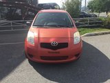 Toyota Yaris 2008 LE*1.5L*MANUELLE*HATCHBACK*LECTEUR CD MP3*MAGS