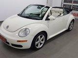 Volkswagen New Beetle Convertible 2007 Triple White, cuir, sièges chauffants, régulateur