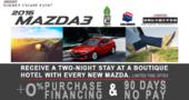 Mazda's Summer Escape Event!