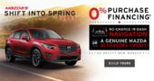 Mazda's Shift Into Spring Event!