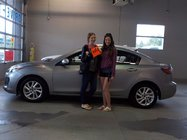 Kramer Mazda | Congratulations Sarah!