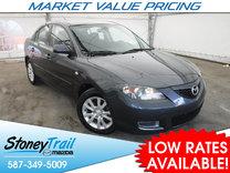 2008 Mazda Mazda3 GS - CLEAN HISTORY! LOCALLY REGISTERED!