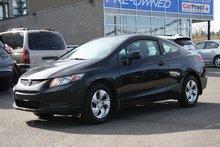 2013 Honda Civic LX COUPE **Powertrain Warranty INCL**