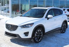 Mazda CX-5 2016 GT*AWD*GPS*CUIR*TOIT*BLUETOOTH*CAM RECUL*CRUISE*