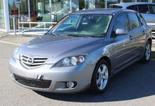 Mazda Mazda3 2005 GS*MANUEL*AC*COMMANDE AUDIO*MAGS*