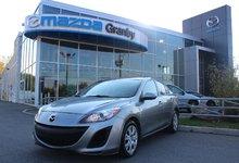 Mazda Mazda3 2010 GS*AC*CRUISE*AUX*CD*COMMANDE AU VOLANT*