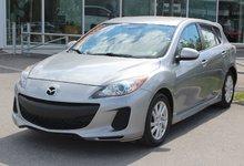Mazda Mazda3 2012 GS*MAN*BLUETOOTH*AC*CRUISE*SIEGES CHAUFF* GR ELEC
