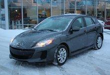 Mazda Mazda3 2013 GS*AC*BLUETOOTH*CRUISE*SIEGES CHAUFF*AUX*GR ELEC