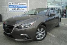 Mazda Mazda3 2014 14000KM BLUETOOTH AUTOMATIQUE CLIMATISEUR