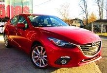 Mazda Mazda3 2014 GT-SKY GARANTIE COMPLÈTE 7ANS/160000KM