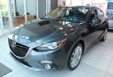 Mazda Mazda3 2015 GT*TOIT*GPS*PADDLESHIFT*CAM RECUL*AC