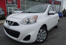 Nissan Micra 2015 SV/BLUETOOTH/COMMANDE AU VOLANT/AIR CLIMATISé/