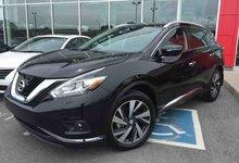 Nissan Murano 2015 PLATINUM AWD GPS CAMERA 360 mags 20 pouces