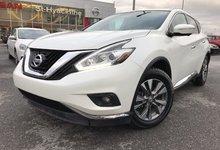Nissan Murano 2015 SL 4X4 CUIR TOIT PANORAMIQUE GPS JAMAIS ACCIDENTÉ