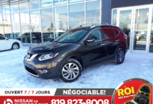 Nissan Rogue 2015 SL, AWD, CUIR, TOIT PANORAMIQUE