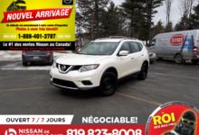 Nissan Rogue 2015 S, AWD, CAMÉRA DE RECULE, SIÈGES CHAUFFANTS
