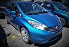 Nissan Versa Note 2014 SL/CAMÉRA/BLUETOOTH/CLIMATISATION/CLÉ INTELLIGENTE