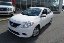 Nissan Versa 2012 1.6SV/DOOR LOCK/AIR CLIMATISÉ//