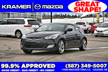 2013 Hyundai Veloster TECH PKG, Leather & Panoramic Roof