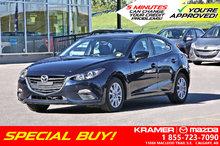 2016 Mazda Mazda3 GS w/Heated Seats & Bluetooth