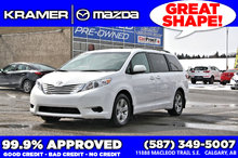 2017 Toyota Sienna LE 8PASS Bluetooth, Back-up Camera