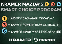 Kramer Mazda's 1-3-6 Smart Choice Program from Kramer Mazda