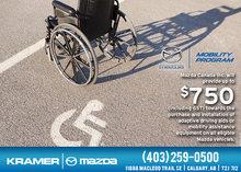 Mazda Mobility Program from Kramer Mazda